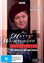 Hetty Wainthropp Investigates - Complete Series 2 (2 Disc Set) on DVD