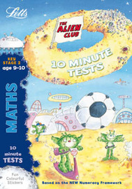 Aliens Quick Test: Maths 9-10 by Lynn Huggins Cooper image