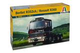 Italeri Berliet R352ch / Renault R360 1:24 Scale Model Kit