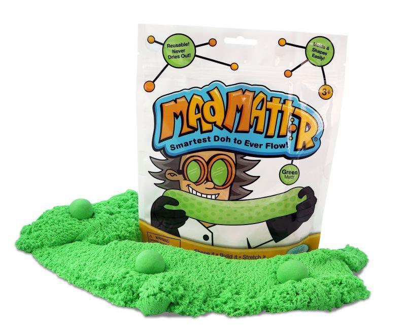 Mad Mattr: Reusable Molding Doh - Green image