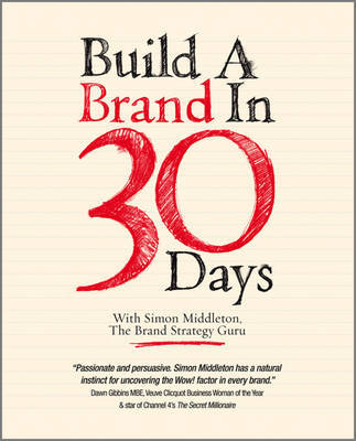 Build a Brand in 30 Days by Simon Middleton image