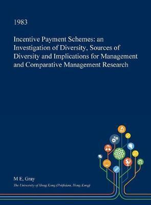 Incentive Payment Schemes by M.E. Gray image