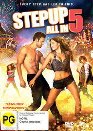 Step Up All In on DVD