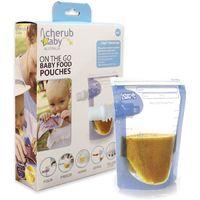 Cherub Baby: Food Storage Pouches (20 Pack)