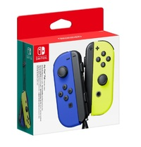 Nintendo Switch Joy-Con Blue/Neon Yellow Controller Set for Switch