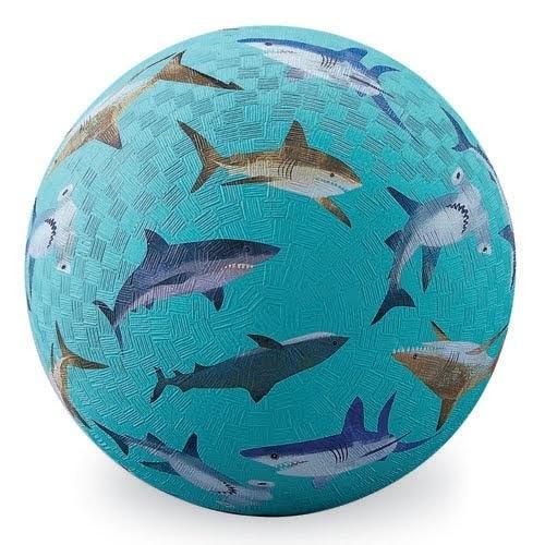 "Crocodile Creek: 7"" Playground Ball - Sharks"