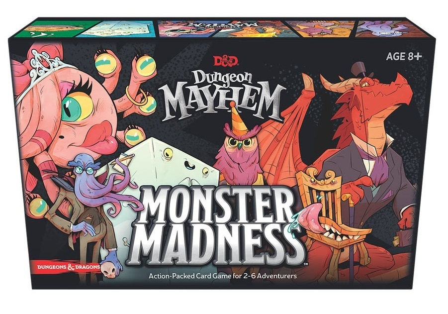 D&D: Dungeon Mayhem: Monster Madness - Expansion image