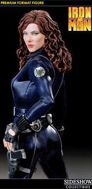 Iron Man 2 Black Widow Scarlett Johansson Premium Format Figure
