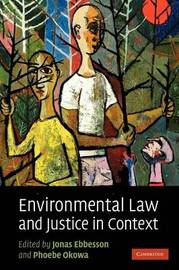 Environmental Law and Justice in Context image