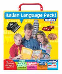 Italian Berlitz Kids Language Pack image