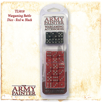 Army Painter Wargamer Dice: Red image