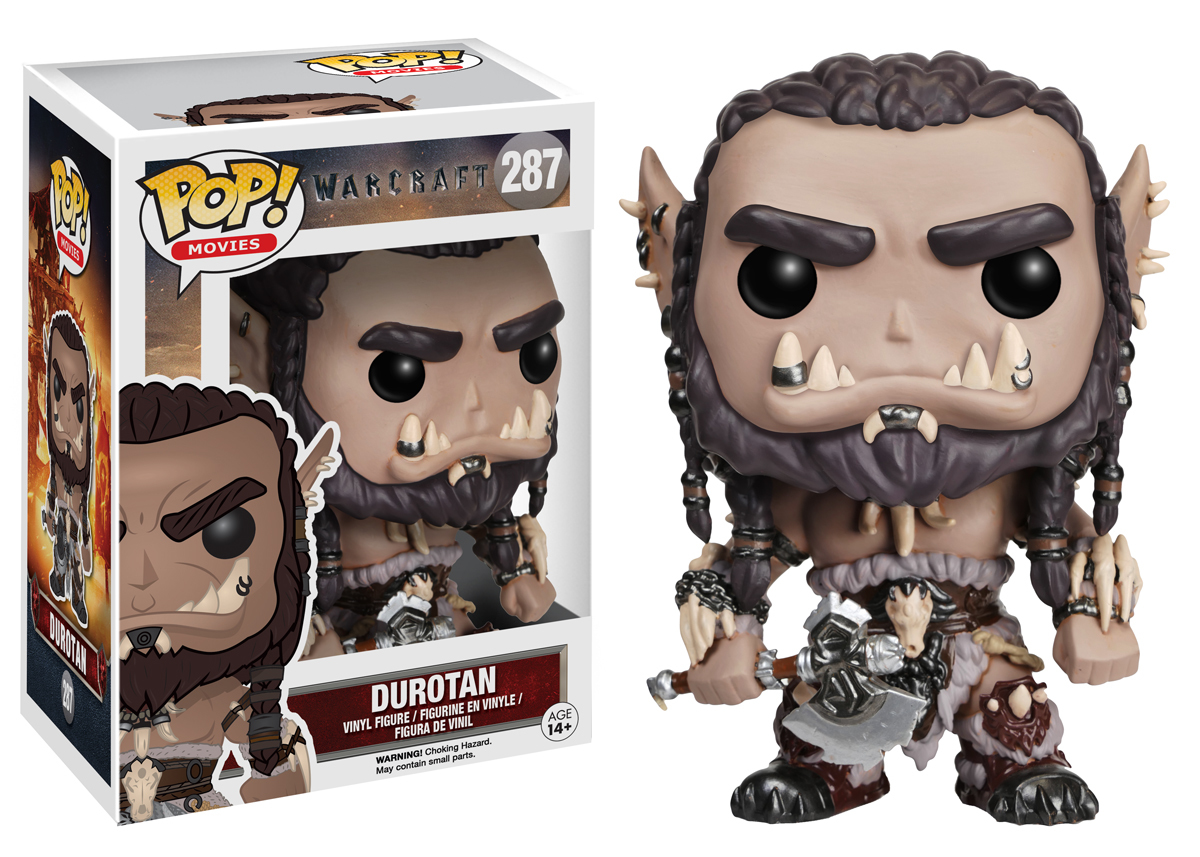 Warcraft Movie – Durotan Pop! Vinyl Figure image