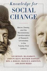 Knowledge for Social Change by Lee Benson