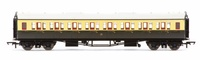 Hornby: GWR Collett Coach Corridor Third Class '5008', Chocolate & Cream