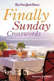 """The New York Times Finally Sunday Crosswords by """"New York Times"""""""