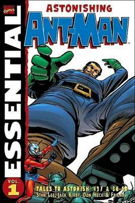 Essential Ant Man Tpb by Stan Lee image