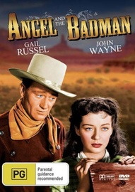 Angel and the Bad Man on DVD image