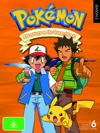 Pokemon - Season 2: Adventures on the Orange Islands (6 Disc Set) on DVD