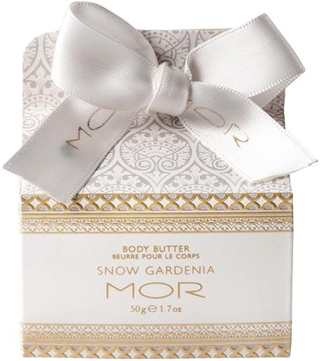 MOR Snow Gardenia Body Butter (50g)