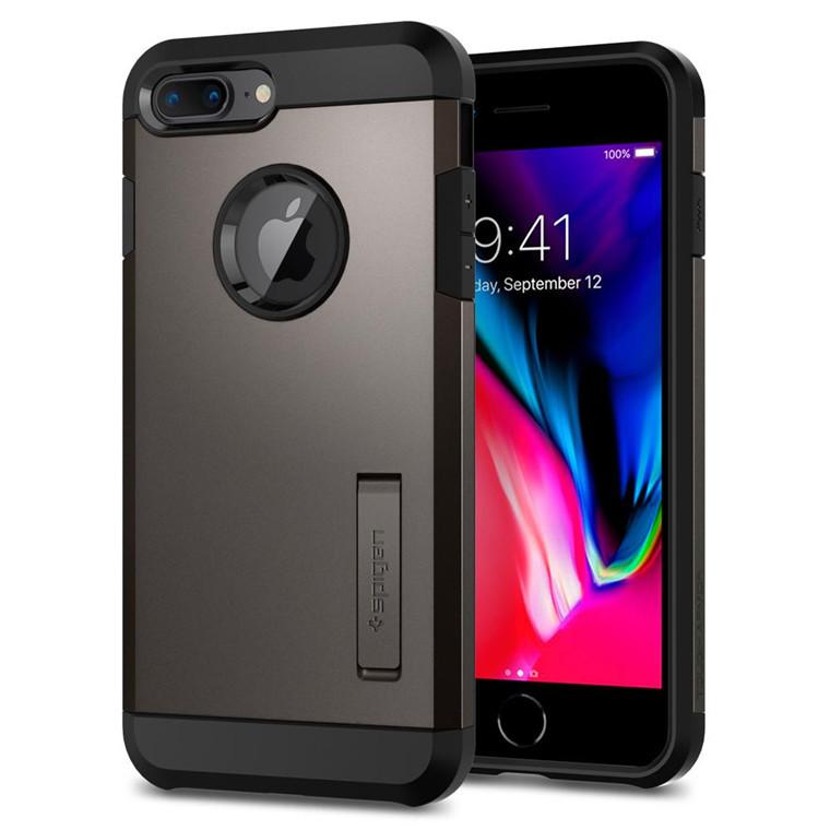 sports shoes be2ec 2c9c6 Spigen iPhone 8 Plus /7 Plus Tough Armor 2 Case Black