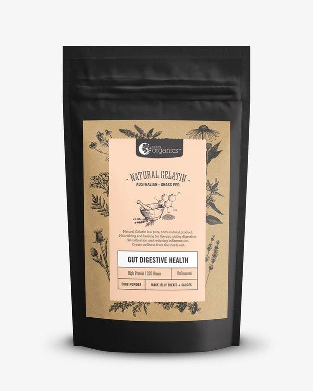 Nutra Organics Natural Gelatin (500g)