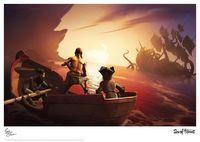 Sea of Thieves: Premium Art Print - Kraken Encounter (Limited Edition)