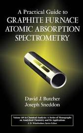 A Practical Guide to Graphite Furnace Atomic Absorption Spectrometry by David J. Butcher image