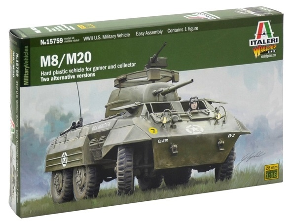 1:56 M8/M20 Armored Utility Car - Model Kit | at Mighty Ape