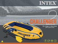 Intex: Challenger M2 - Boat Set