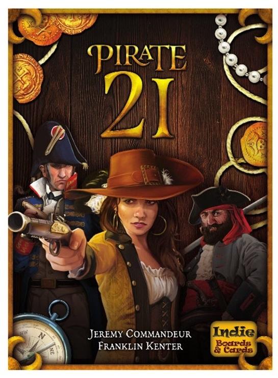Pirate 21 - Card Game image