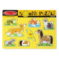 Melissa & Doug: Pets Sound Puzzle