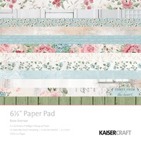 "Kaisercraft: Rose Avenue 6.5"" Paper Pad"