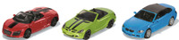 Siku: Convertible Car - Diecast 3-Pack