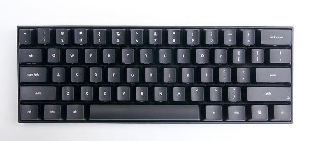 KBParadise V60 Type R MX Clear 60% Mechanical Keyboard Black