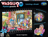 Wasgij: 1000 Piece Puzzle - Mystery #17 (Catching a Break)