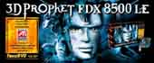 3D PROPHET FDX 8500LE (64MB - AGP - TV Out ) for PC Games