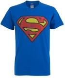 DC Originals Retro Superman Distressed Logo T-Shirt - XLarge