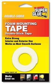 "Double Sided Foam Mounting Tape (5/8"" x 36"")"