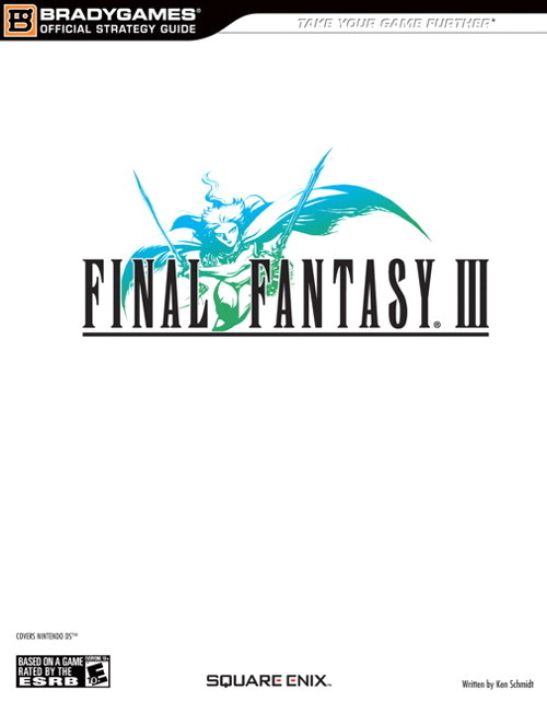 Final Fantasy III Strategy Guide for Nintendo DS