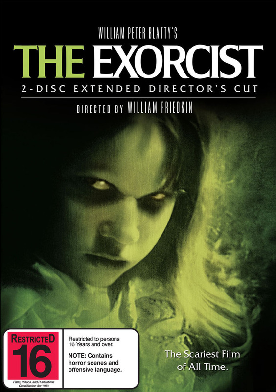 The Exorcist: The Extended Director's Cut (2 Disc Set) on DVD