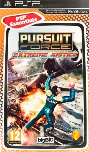 Pursuit Force: Extreme Justice (Essentials) for PSP