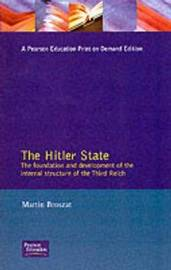 The Hitler State by Martin Broszat image