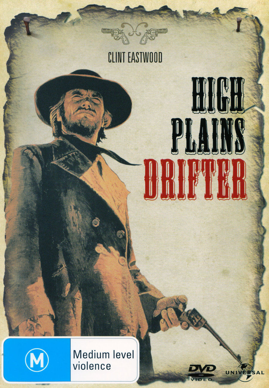 High Plains Drifter on DVD image