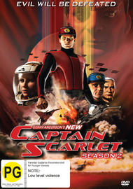 Captain Scarlett - Season 2 on DVD