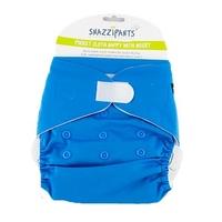 Snazzipants Pocket Reusable Nappy - Blue
