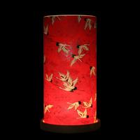 Big Glass Lantern Sky of Cranes (Red) image