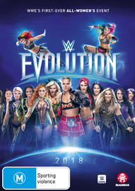 WWE: Evolution on DVD