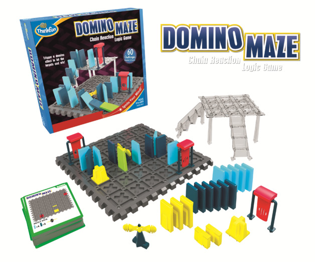 Domino Maze - Logic Game
