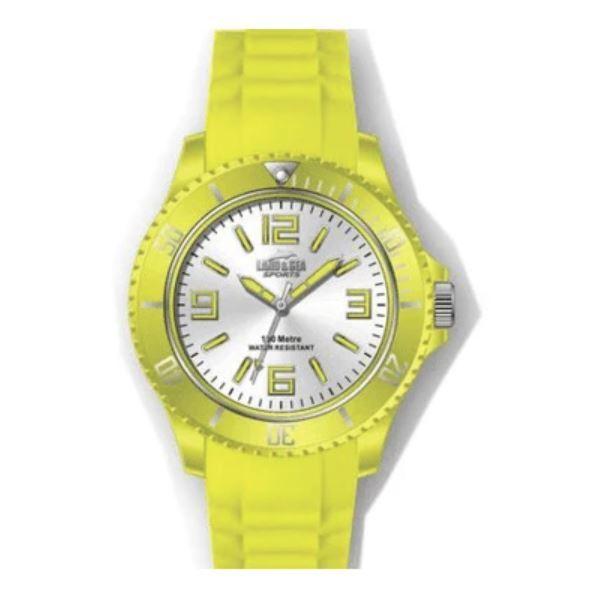 Land & Sea Sports Funky Watch - Yellow (Medium)