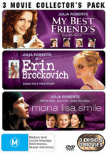 My Best Friend's Wedding/Erin Brockovich/Mona Lisa Smile (3 Disc Collector's Pack) on DVD